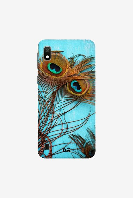 DailyObjects 3 Peacock Feathers Case Cover For Samsung Galaxy A10
