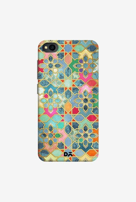 DailyObjects Gilt and Glory Moroccan Mosaic Case Cover For Xiaomi Redmi Go
