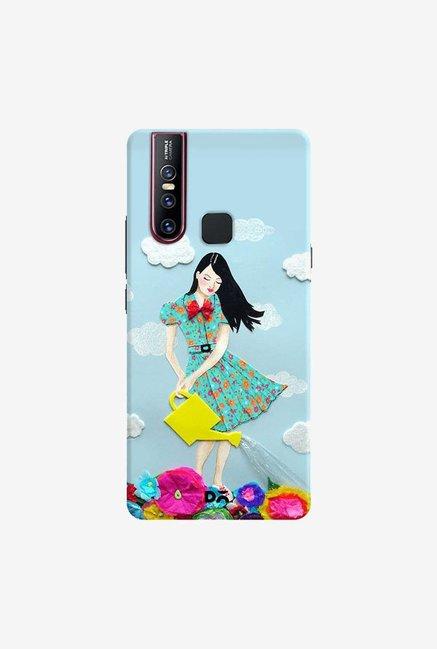 DailyObjects Girl In Flowerland Case Cover For Vivo V15