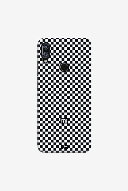 DailyObjects Achromatic Checkerboard Case Cover For Xiaomi Redmi Note 7 Pro