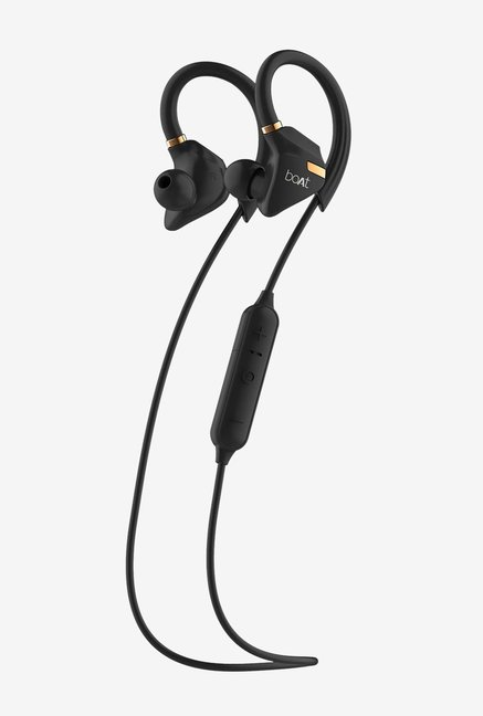 Boat Rockerz 315 T Bluetooth Earphone With Mic  Active Black