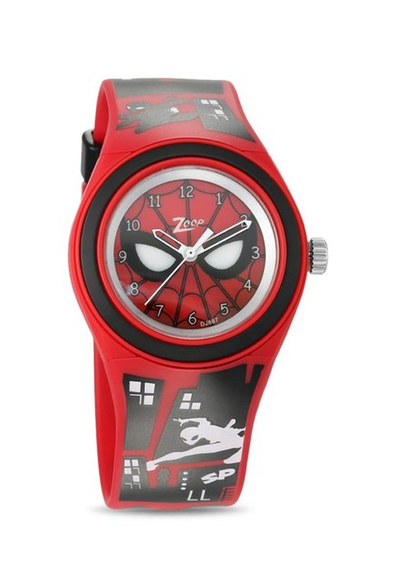4ee968d4d Buy Zoop C4048PP31 Marvel 2019 Spiderman Analog Watch for Kids at Best  Price   Tata CLiQ