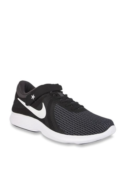 0c129a05dca4a Buy Nike Revolution 4 Flyease Black Running Shoes for Men at Best Price @  Tata CLiQ