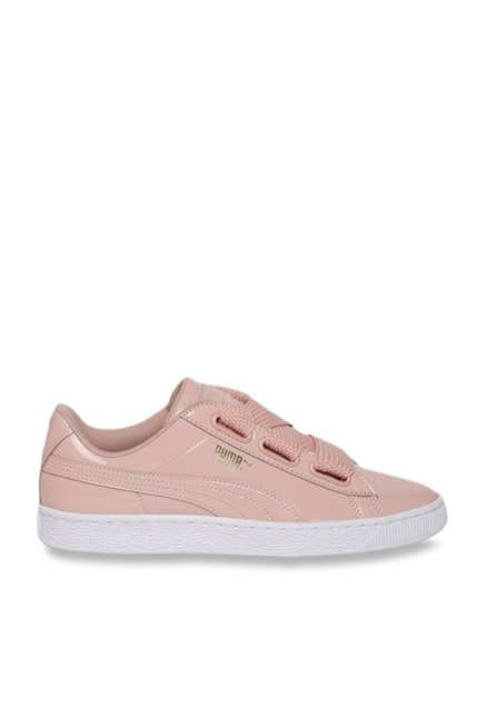 official photos dd853 77c67 Buy Puma Basket Heart Peach Sneakers for Women at Best ...