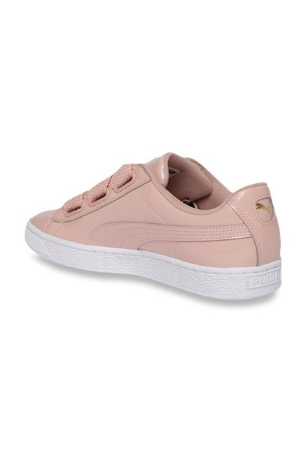 Buy Puma Basket Heart Peach Sneakers for Women at Best Price @ Tata CLiQ