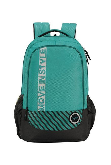 Skybags Luke 02 Turquoise   Grey Polyester Backpack