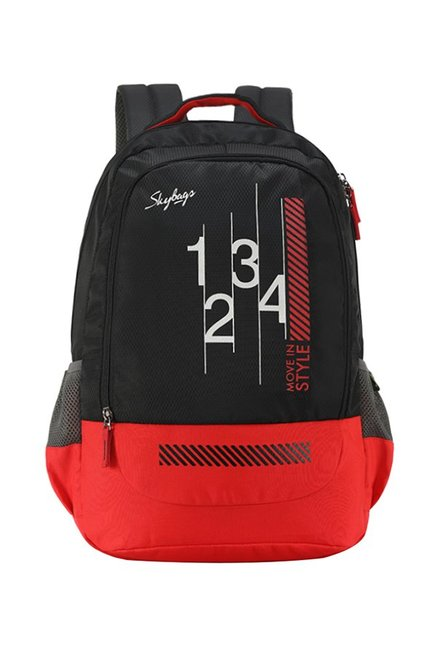 Skybags Luke 27 Ltr Black Large Backpack