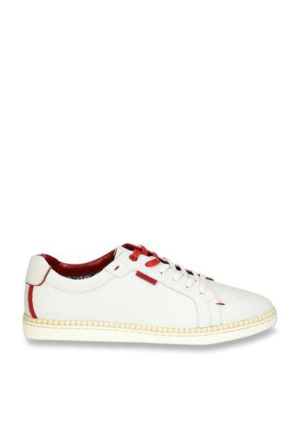 Buy Ruosh Artisan White Sneakers for
