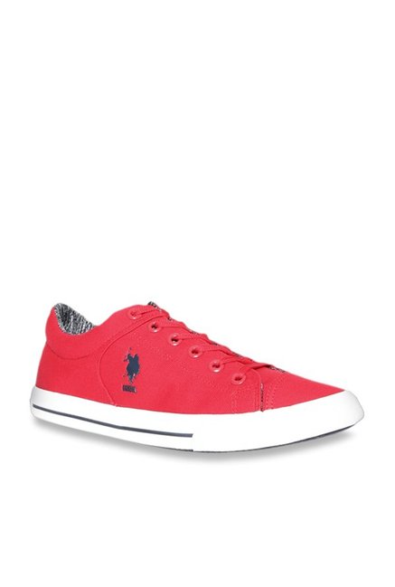 Buy U.S. Polo Assn. Perce Red Sneakers