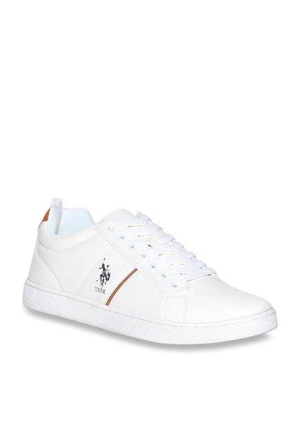 U.S. Polo Assn. Salvador White Sneakers