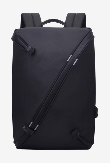 Not Available 360 Degree Open Laptop Backpack For 15 inch Laptops with USB port  Black