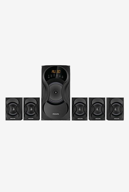 Philips SPA5162B94 60W 5.1 Channel Home Theater (Black)
