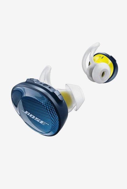 BOSE SoundSport Free Bluetooth Earphones with Mic (Navy BlueCitron)