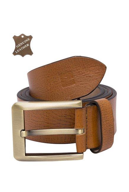 3bfa6f068f6f Buy Spykar Tan Leather Casual Waist Belt for Men Online At Best Price    Tata CLiQ