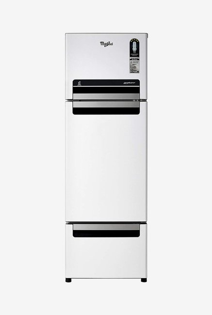 Whirlpool FP 283D Protton Roy 260 L 5 Star Frost Free Triple Door Refrigerator  Mirror White