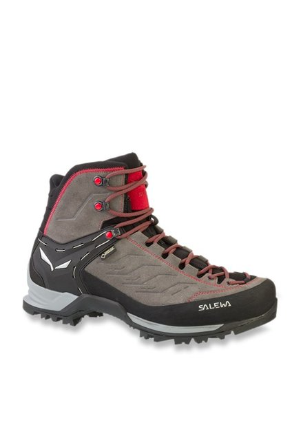 0f8850323c7 Buy Salewa Mountain Trainer Mid GTX Grey Trekking Shoes for Men at ...