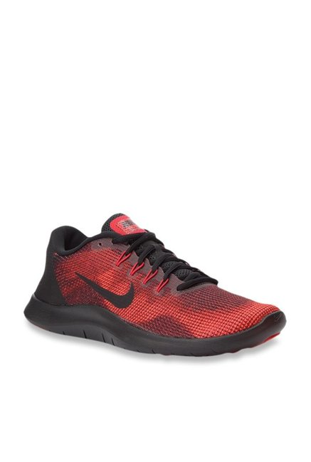 big discount cute cheap 100% quality Buy Nike Flex 2018 RN Red Running Shoes for Men at Best ...