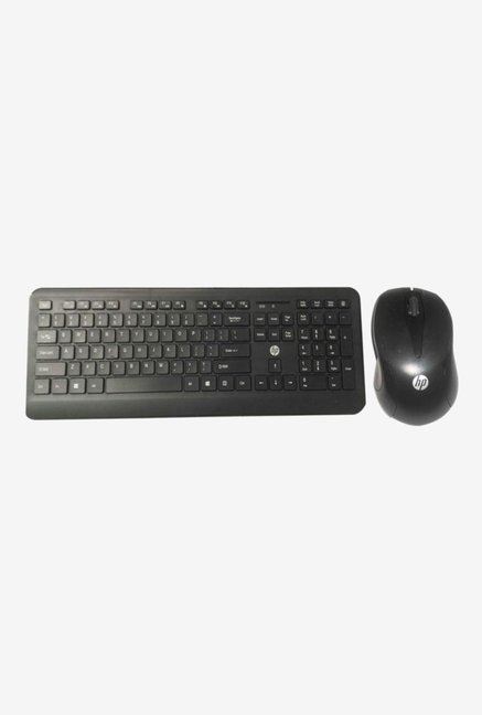48857938a28 Buy HP 3RQ75PA Wireless Keyboard and Mouse (Black) Online At Best Price @  Tata CLiQ