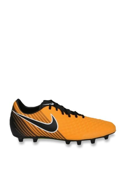 official photos 3a1d8 183b4 Nike Magistax OLA II TF Mustard Yellow Football Shoes