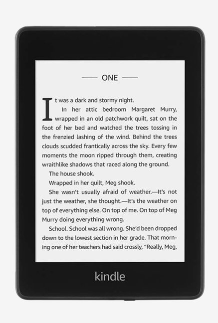 Amazon Kindle Paperwhite 10th Gen 8  GB Wi Fi E Reader  Black  Amazon Electronics TATA CLIQ