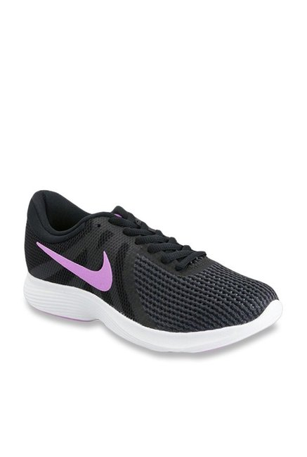 sugerir Mariscos posponer  Buy Nike Revolution 4 Dark Grey Running Shoes for Men at Best Price @ Tata  CLiQ