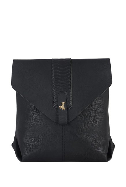 Baggit Lombardy Black Backpack