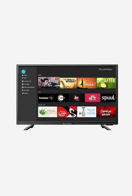 CloudWalker CloudTV 80cm (32 inch) HD Ready LED Smart TV(CLOUD TV32SH)