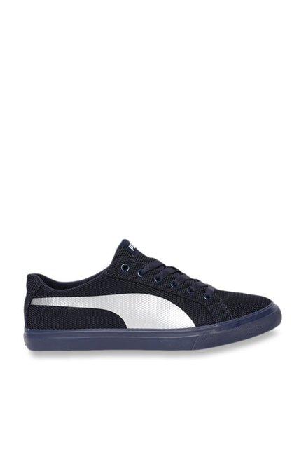 Buy Puma Rap Low Knit IDP Navy Sneakers