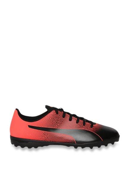 f0734934a6 Buy Puma Spirit II TT Black & Red Blast Football Shoes for Men at ...