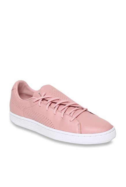 new style 081db f9a79 Buy Puma Basket Crush Bridal Rose Sneakers for Women at Best ...