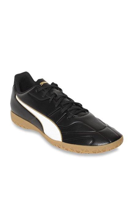 Puma Men's Classico C II IT Black Football Shoes
