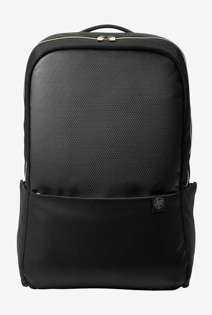 HP Duotone 4QF96AA Laptop Backpack For 15.6 inch Laptops  BlackGold