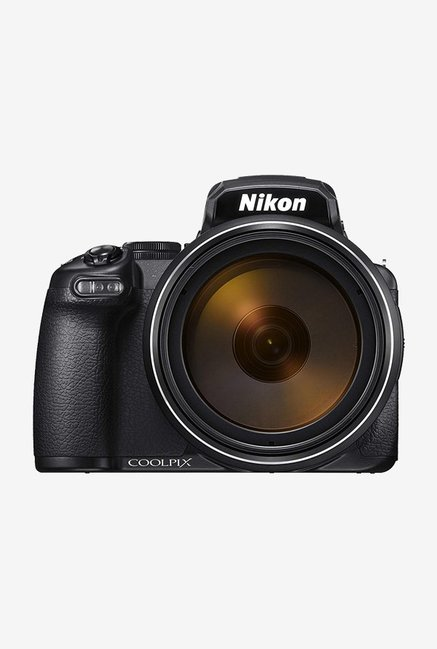 Nikon Coolpix?P1000 16 MP Point & Shoot Camera with?16GB SD?card and Micro HDMI cable?(Black)