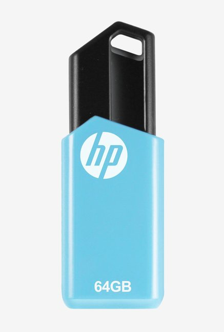 HP v150w 64 GB Pen Drive  Blue