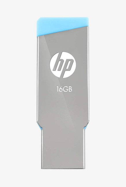 HP V301W 16 GB Pen Drive  GreyBlue