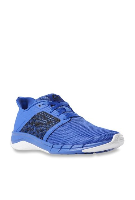hot sale online b9834 f181a Buy Reebok Print Run 3.0 Blue Running Shoes for Men at Best ...