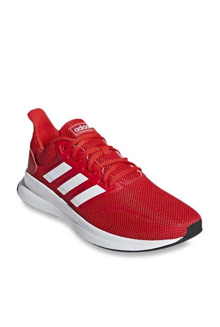 Buy Adidas Runfalcon Red Running Shoes for Men at Best Price