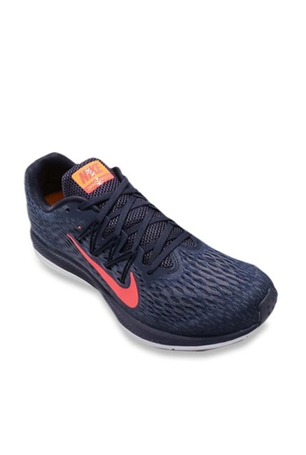 0f8ab1d8a19 Buy Nike Zoom Winflo 5 Navy Running Shoes for Men at Best Price @ Tata CLiQ