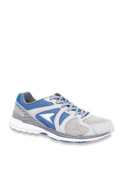 Bata Grey \u0026 Blue Running Shoes