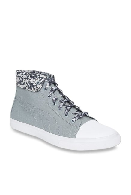 Buy Puma Rap Mid Graphic IDP Iron Gate Ankle High Sneakers