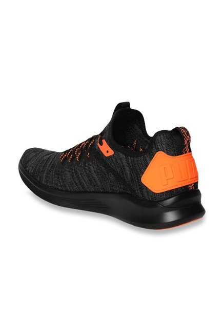 the best attitude 1aa89 994a1 Buy Puma Ignite Flash evoKNIT Unrest Black Running Shoes for ...