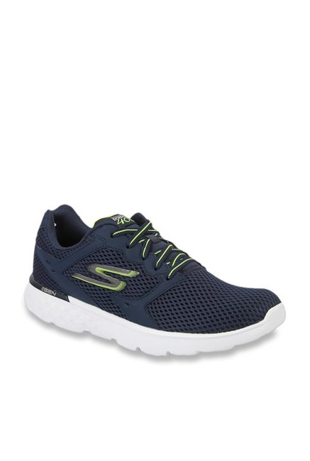 Skechers Go Run 400 Navy Running Shoes