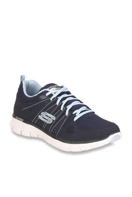 Skechers Look Book Navy Running Shoes