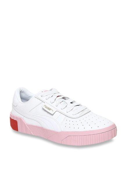 Buy Puma Cali White Sneakers for Women