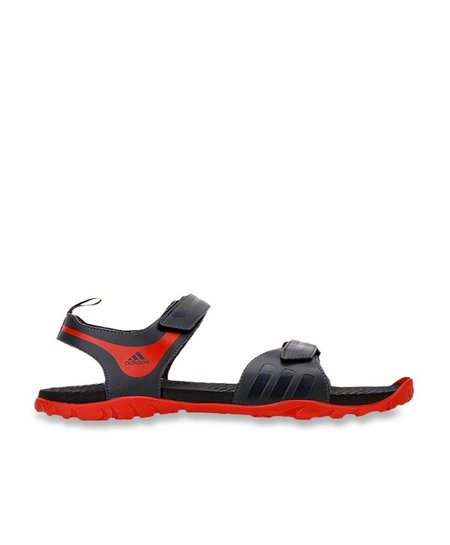 completar acortar Modernización  Buy Adidas Escape 2.0 Black & Red Floater Sandals For Men Online At Tata  CLiQ
