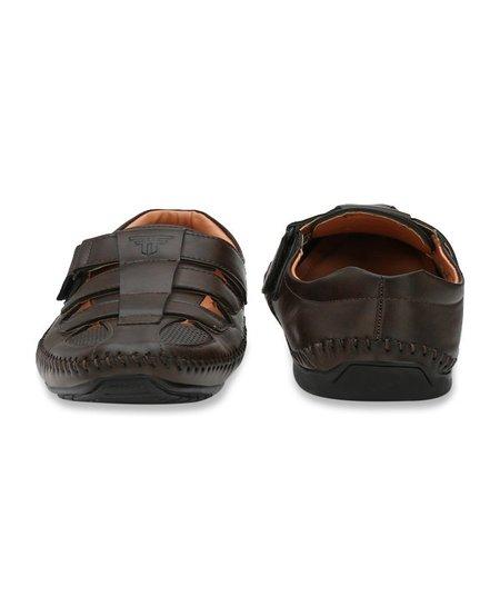 Buy Fashion Victim Dark Brown Fisherman Sandals For Men At Best Price Tata Cliq