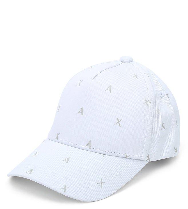 Armani Exchange Bianco Sports Baseball Cap