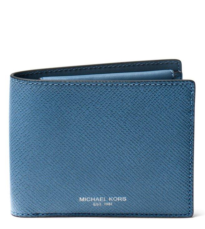 c1d6b7fdca65 Buy MICHAEL Michael Kors Ocean Harrison Small Leather Wallet for Men ...