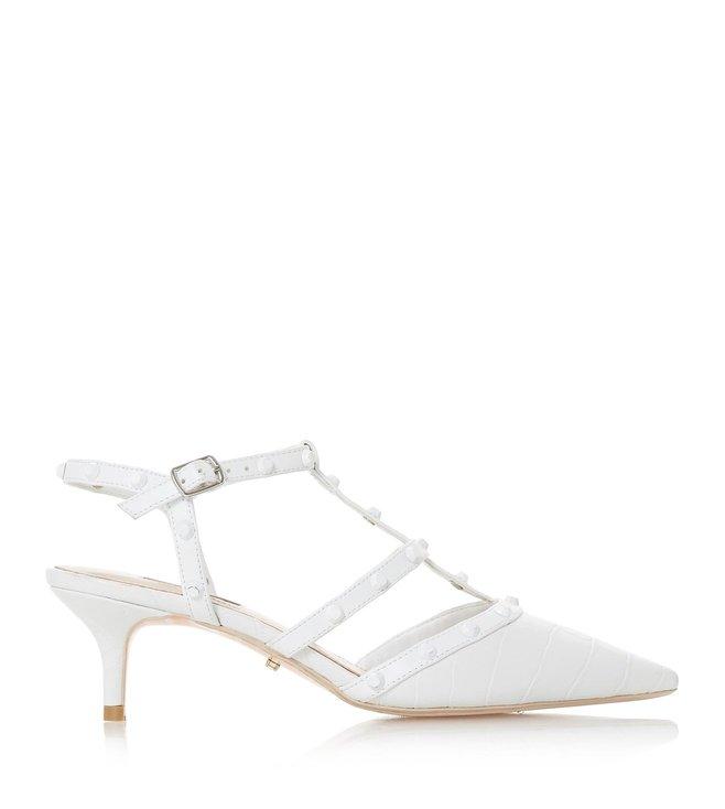 Casterly Studded Strap Kitten Sandals