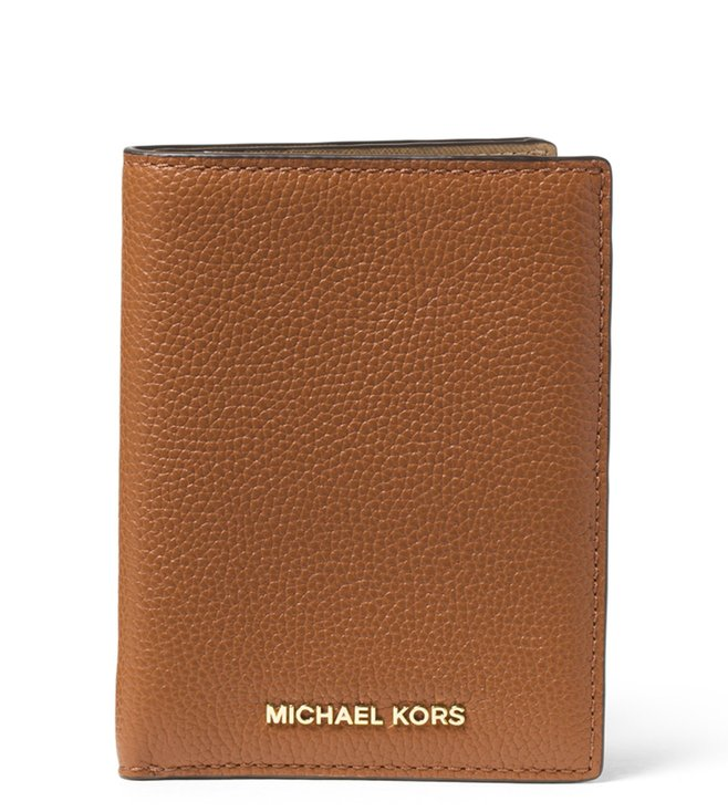 015e67c36924 Buy MICHAEL Michael Kors Brown Mercer Passport Wallet for Women ...